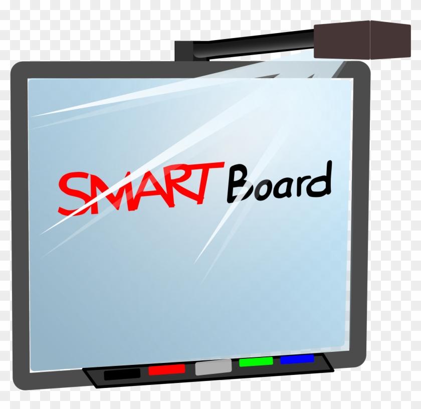 Interactive Clipart For Smartboard - Smart Board In School #507029