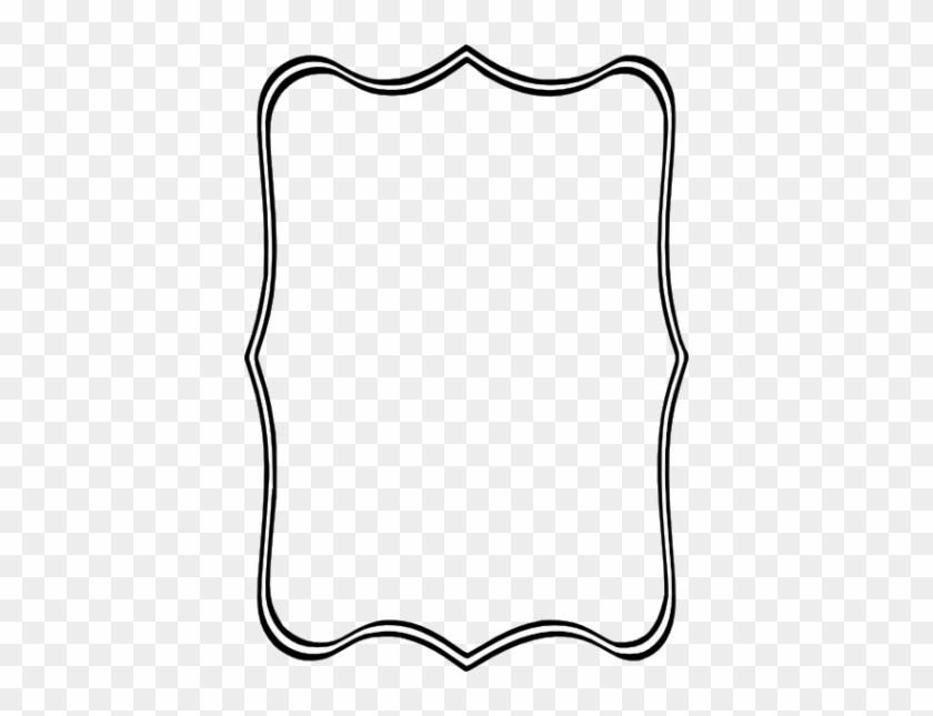 Black Frame Clip Art At Clker Vector Clip Art - Fancy Rectangle Border Png #507364