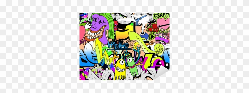 Graffiti Wall Art Background Tapis De Souris Graffiti Ref 2675