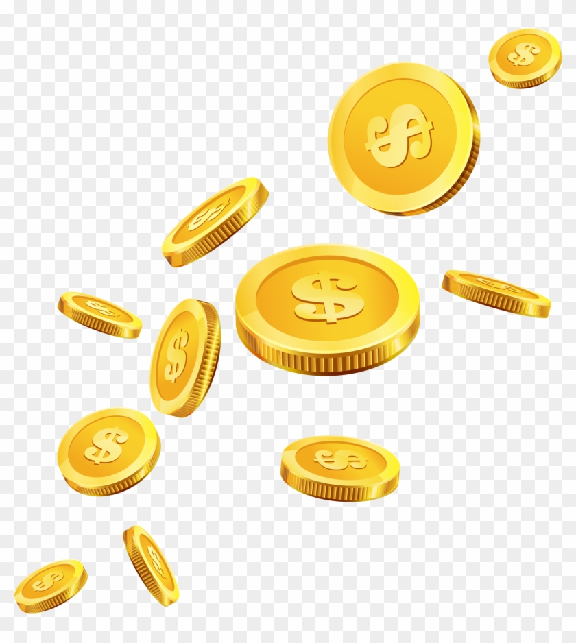 Gold Coins Png #507511