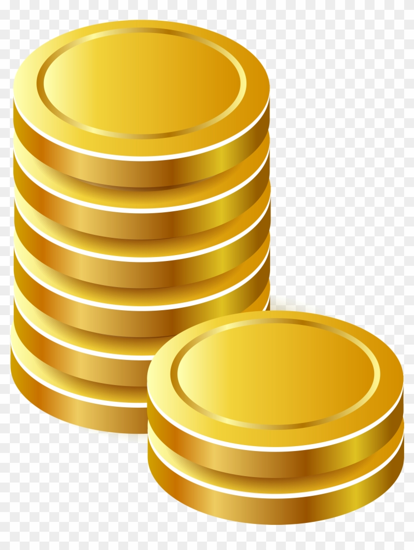 Gold Coins Png Clipart - Gold Coins Png #507537