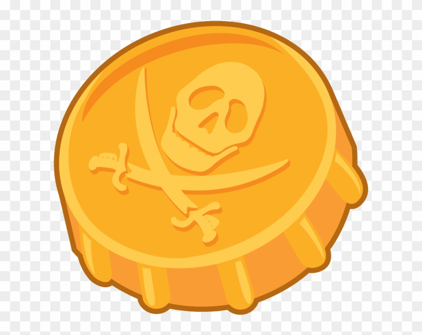 Coin Clipart Coin Clip Art For Teaching Free Clipart - Pirate Gold Coin Png #507583