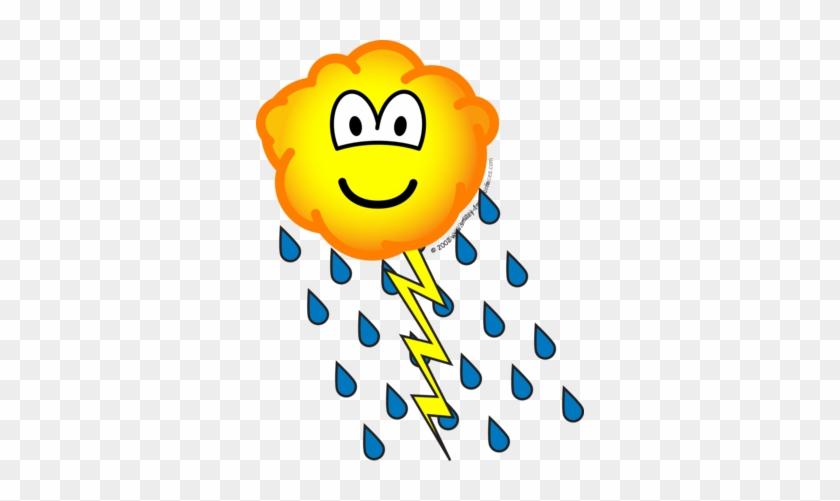 Thunder Cloud Emoticon - Emoticon - Free Transparent PNG