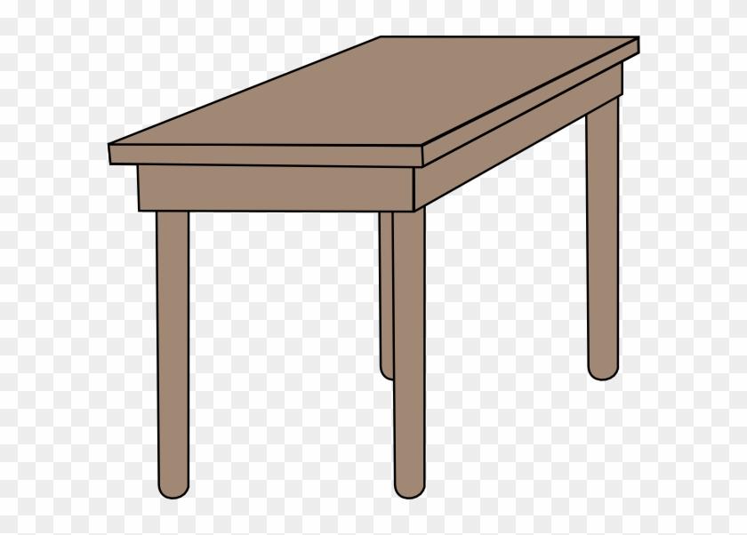 Student Table Clipart - Desk Clip Art #507732