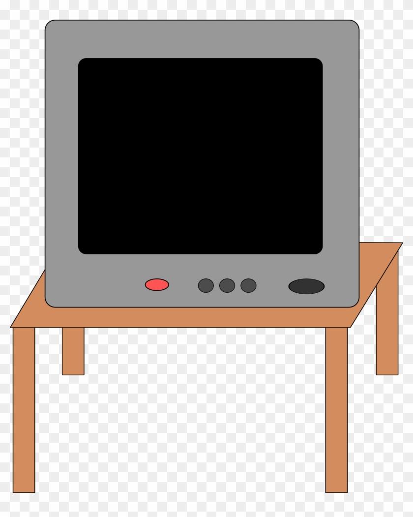 Desk Clipart Square Table - Table Clip Art #507741