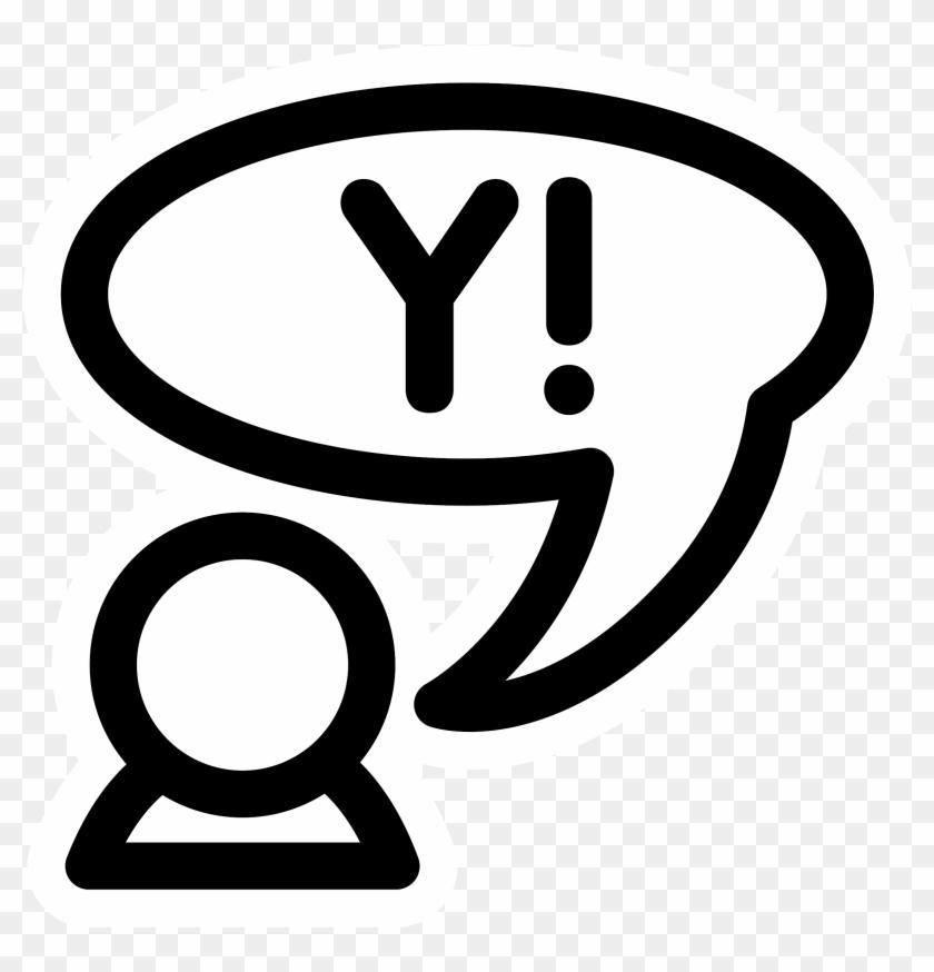 Big Image Yahoo Messenger Protocol Free Transparent Png Clipart