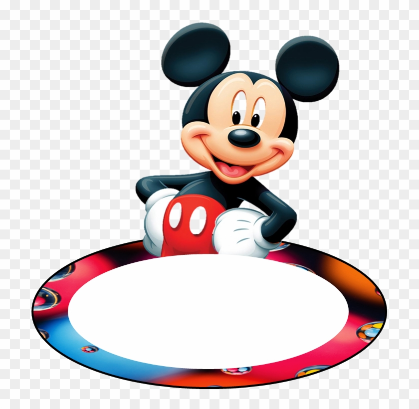 Name Tag Mickey - Cut Out Mickey Mouse - Free Transparent PNG ...