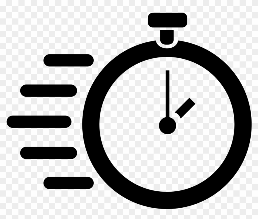 Fast Icon - Stopwatch Icon Transparent - Free Transparent