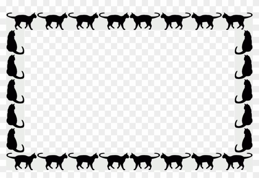 Animal Cliparts Frames - Marco De Gatos Png - Free Transparent PNG ...