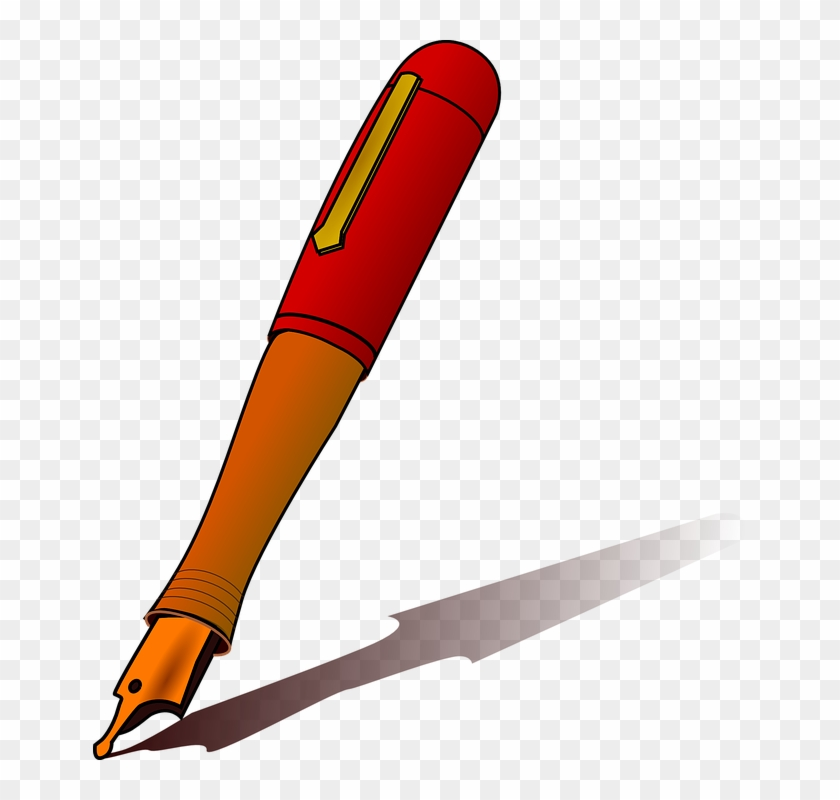 Office Supplies Clipart 17, - Clipart Images Of Pen #509147