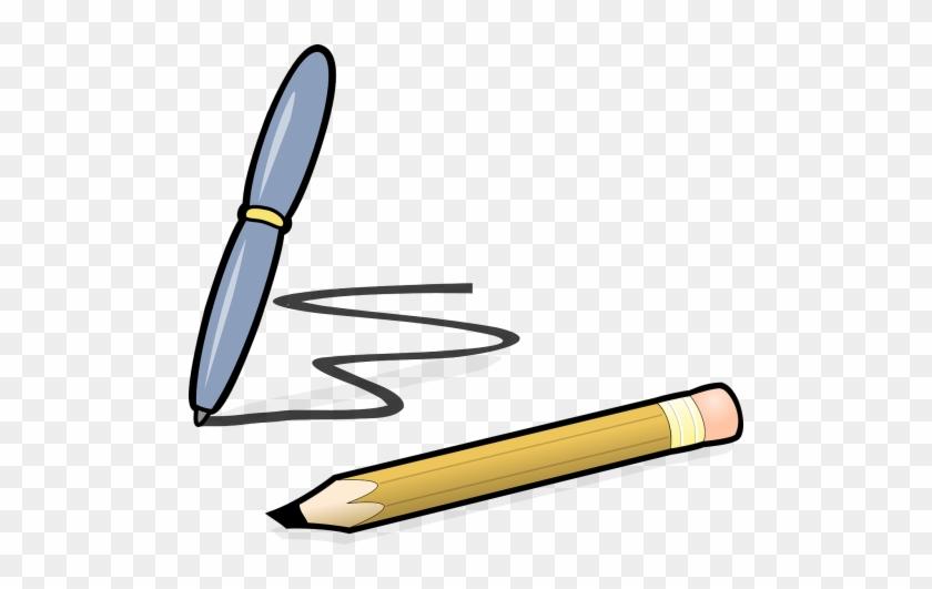Pen And Pencil Clipart #509208