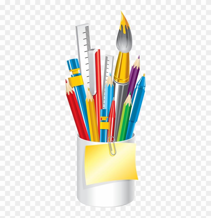 Post-it Clipart School Supply - School Supplies Png #509383