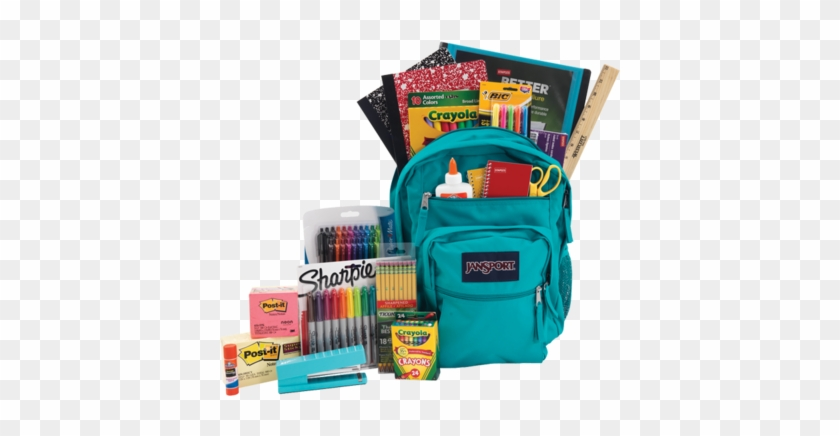 Backpack1 - Backpack And School Supplies #509405