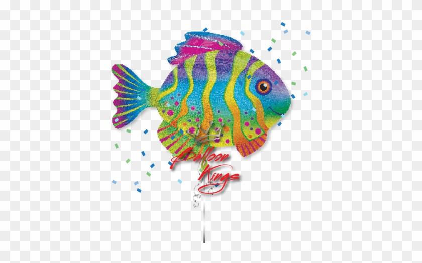 Colorful Fish - Fish Balloon Party City #509566