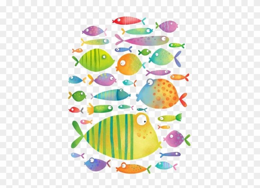 Illustrator Fish Drawing Illustration - Cute Fish Illustration #509583