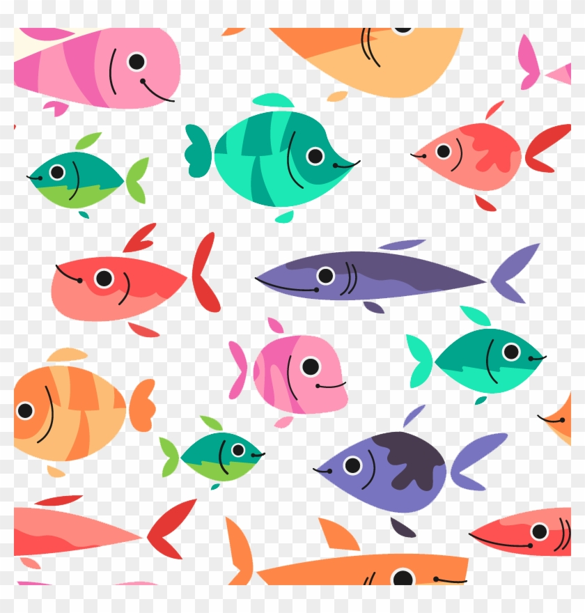 Download Euclidean Vector Fish Drawing - Address Book Fish Pattern: Volume 13 #509619