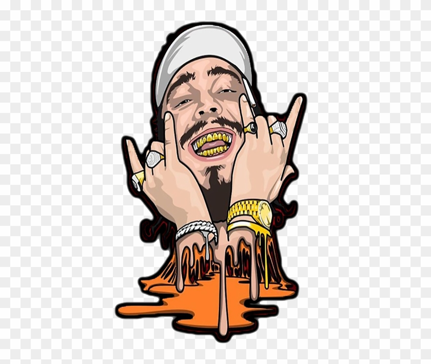 Bleed Area May Not Be Visible - Post Malone Clip Art #509641