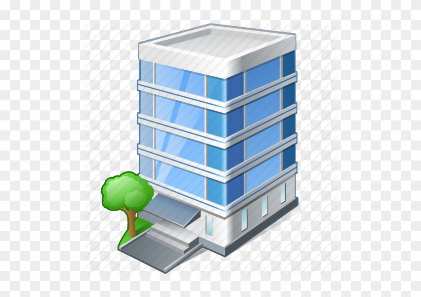 Free Buildings Icons - Office Building Icon #509943