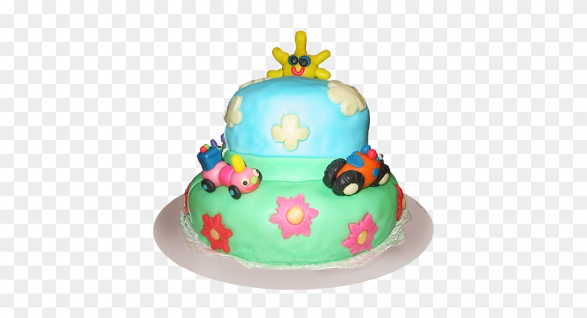 Chocolate Birthday Cake With Candles Kids Cakes Png Free