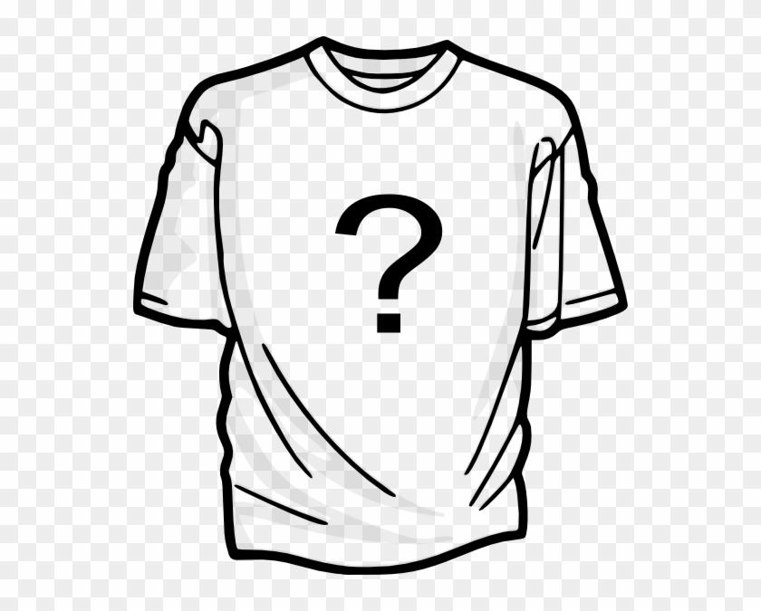 T Shirt Question Mark