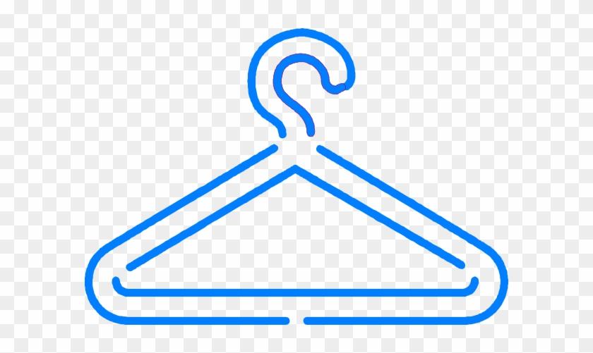 Blue Hanger Clip Art At Clker Com Vector Clip Art Online, - Blue Hanger Clipart #510384
