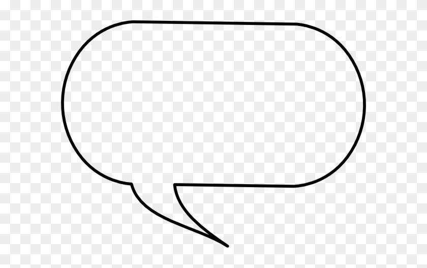 Speech Bubble Clip Art - Comic Book Talking Bubbles #510541