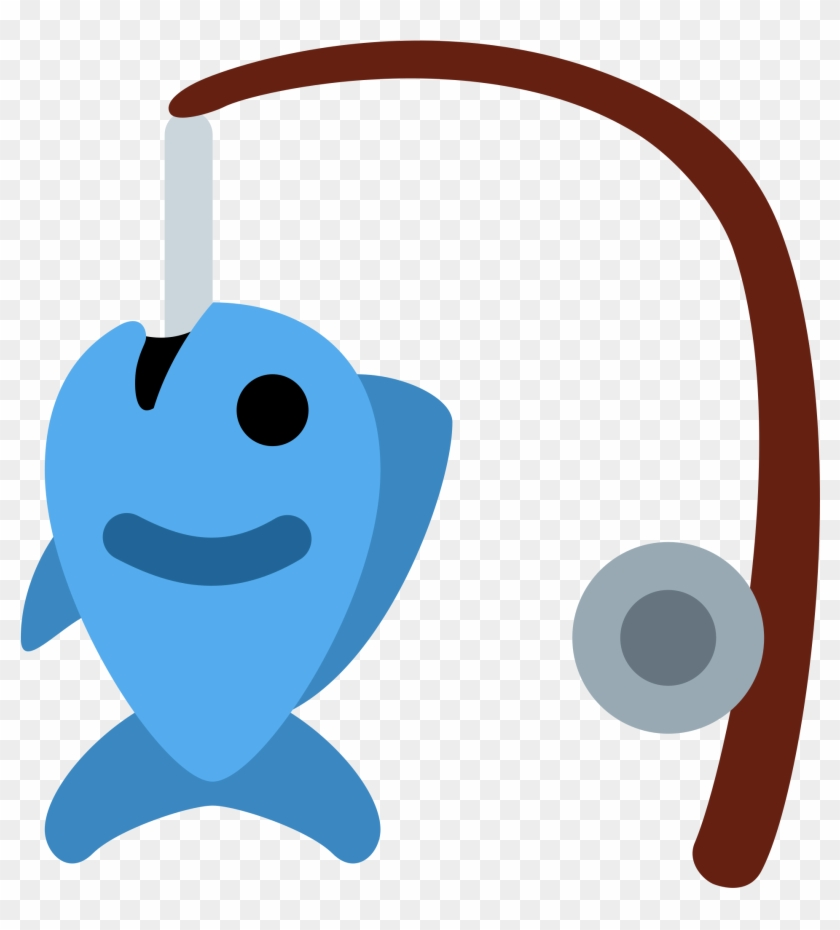 Fishing Pole And Fish, Fishing Rod - Animated Fishing Pole #510640
