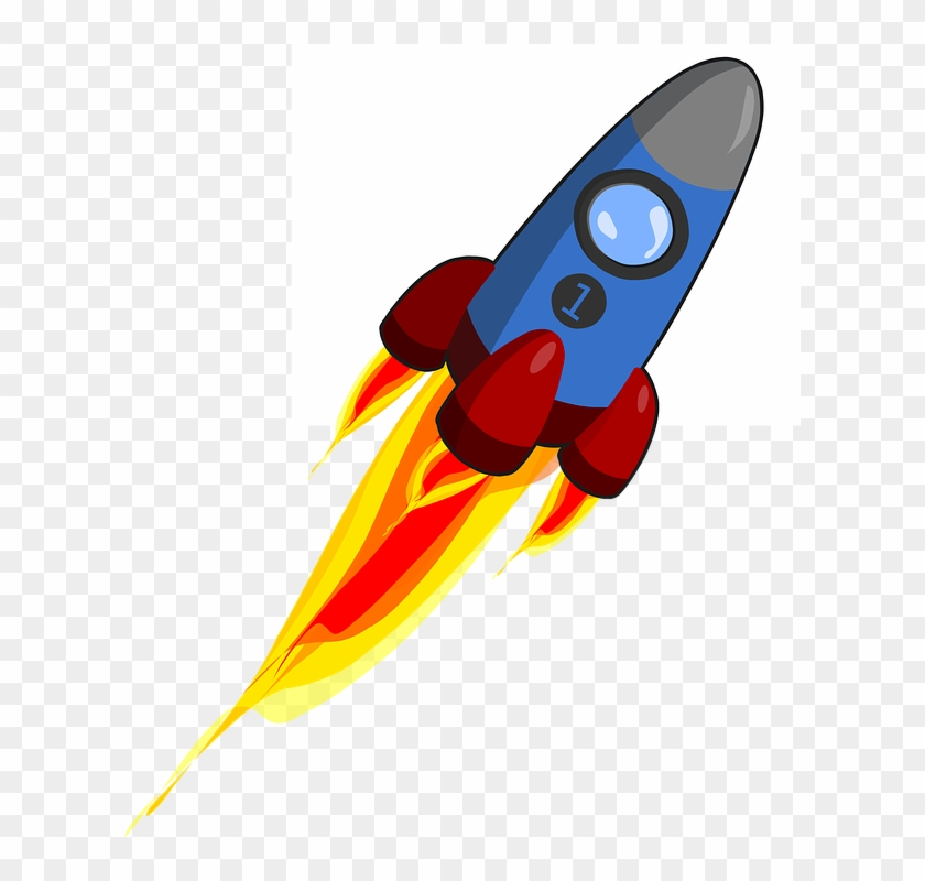 Rocket Launch Cliparts 27, Buy Clip Art - Animated Rocket #510795