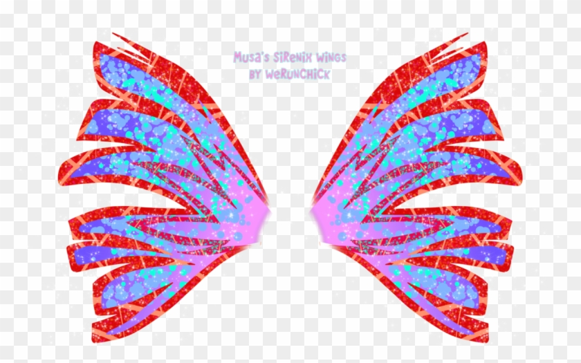 Musa S Sirenix Wings By Werunchick Winx Club Musa Wings Free Transparent Png Clipart Images Download