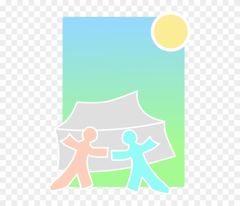 Tent Camping Pathfinders Boy Scouts Summer Tent Clipart Girl