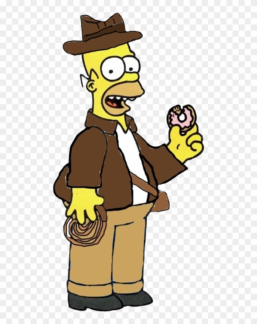 Indiana Jones Clipart Simpsons