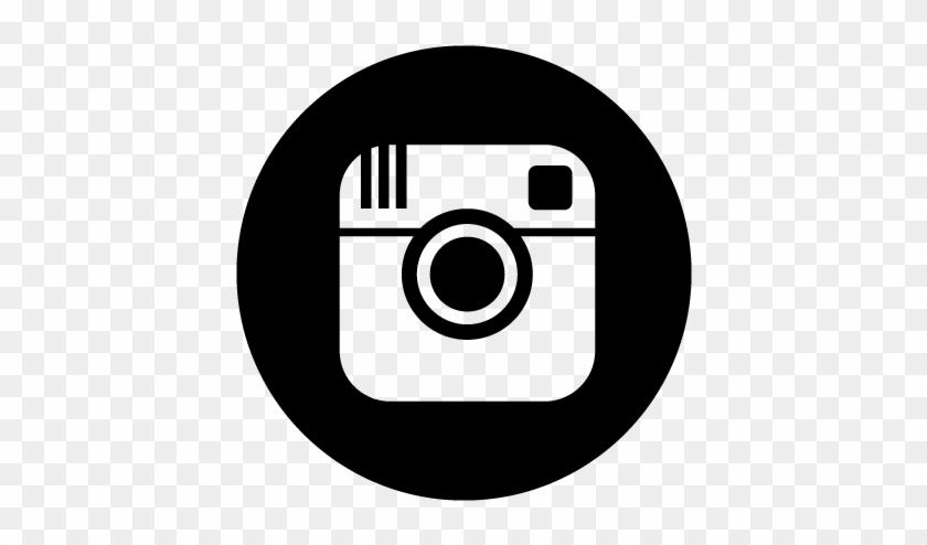 Instagram Camera Logo Black Clipart Panda Free Clipart - Instagram Icon For Twitch #511885