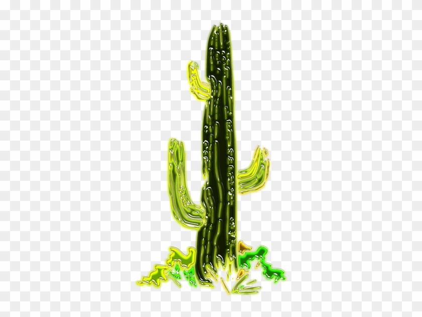 Cactus Png 25, Buy Clip Art - Cactus In Desert Png #512032