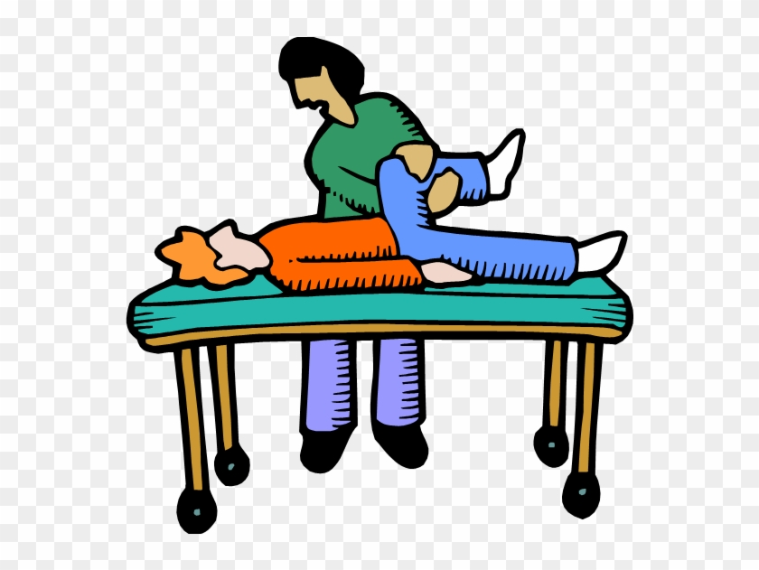 Phyiscal Therapist Working With A Patient Physical Therapy Cartoon Free Transparent Png Clipart Images Download