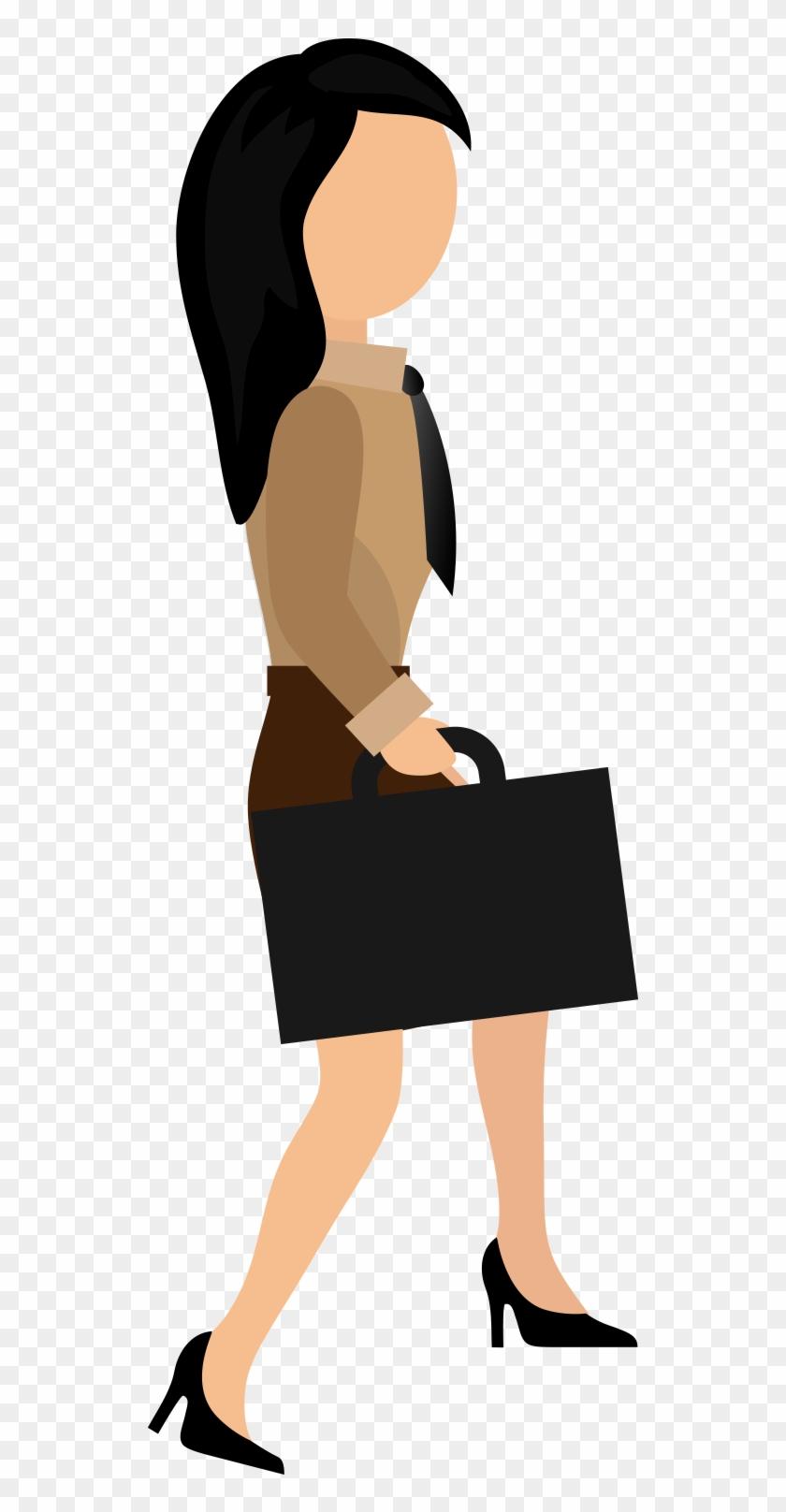 Businessperson Flat Design - Businessperson Flat Design #512956