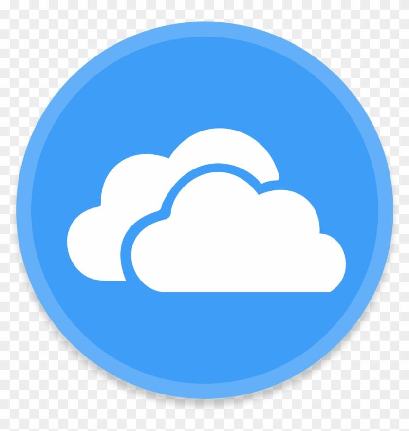 Onedrive Icon 512x512px - Facebook Messenger Icon Circle #513200