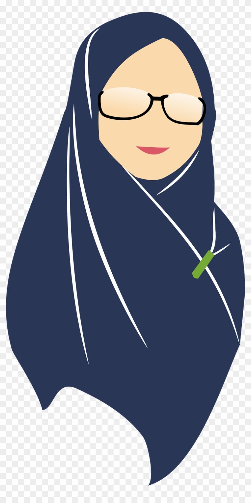 Flatdesign Hijab Hijab Free Transparent Png Clipart Images Download