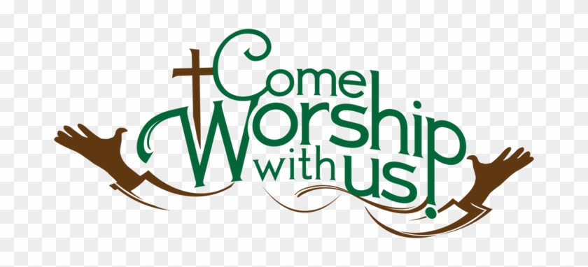 Sunday Morning Cliparts - Come Worship With Us #513595