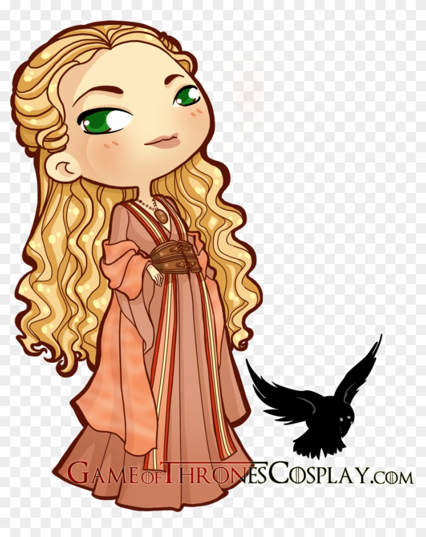 Books - Game Of Thrones Cersei Chibi #514419