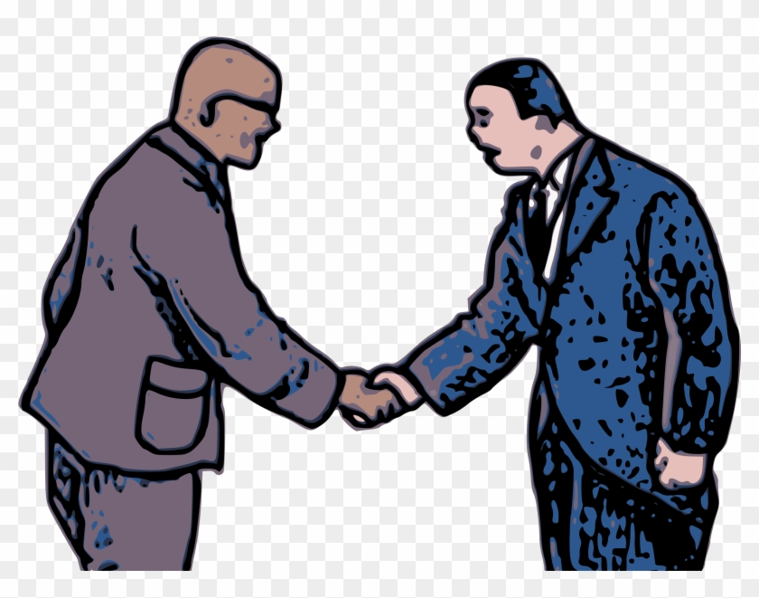 Do You Want To Keep On Improving Your English Speaking - Shaking Hands Clip Art #514499
