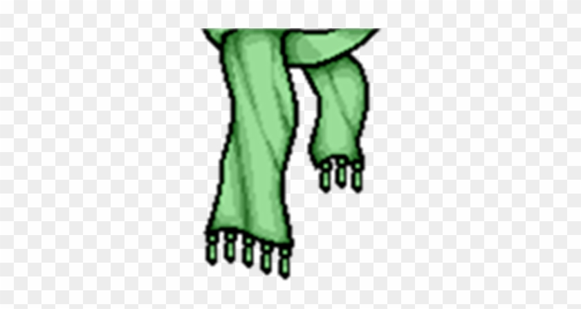 Green Scarf [transparent] - T Shirt Verde Roblox - Free Transparent