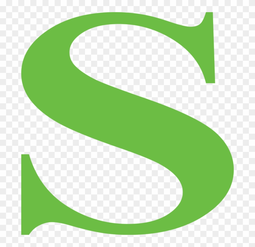 Crafts Fancy Letter S In Green Free Transparent Png Clipart