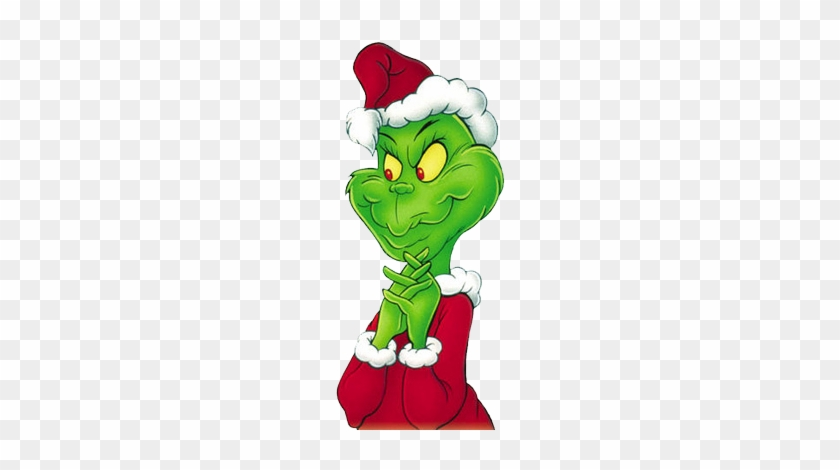 Come Visit The Grinch - Grinch With Santa Hat #515058