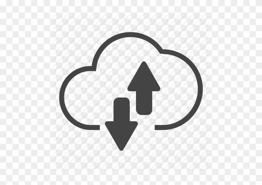 Cloud, Up And Down, Couple, Exchanging, Internet, Exchange, - Cloud Storage #515072
