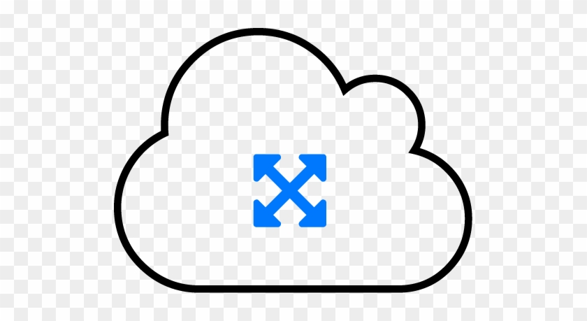 Cloud Scalability Icon - Scalability Cloud Icon #515101