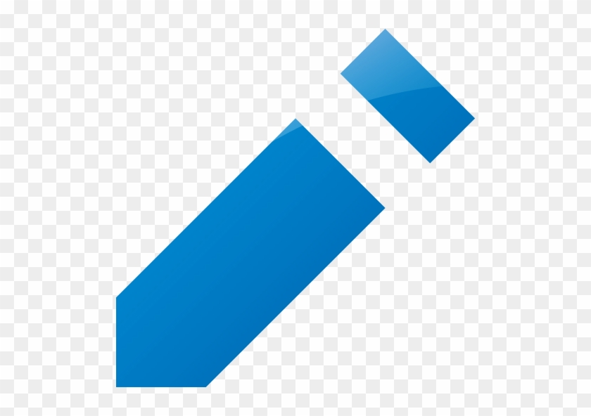 Web 2 Blue Pencil 2 Icon - Epub Icon - Free Transparent PNG Clipart