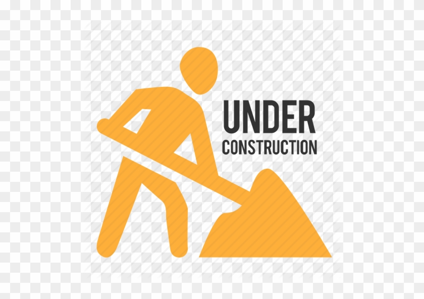 Digging Sign Icon - Under Construction Icon Png #515483