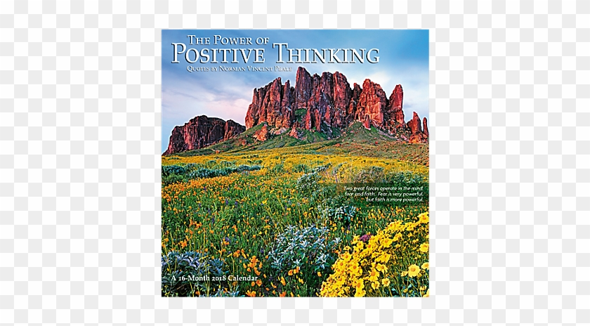 The Power Of Positive Thinking Wall Calendar - The Power Of Positive Thinking #516049