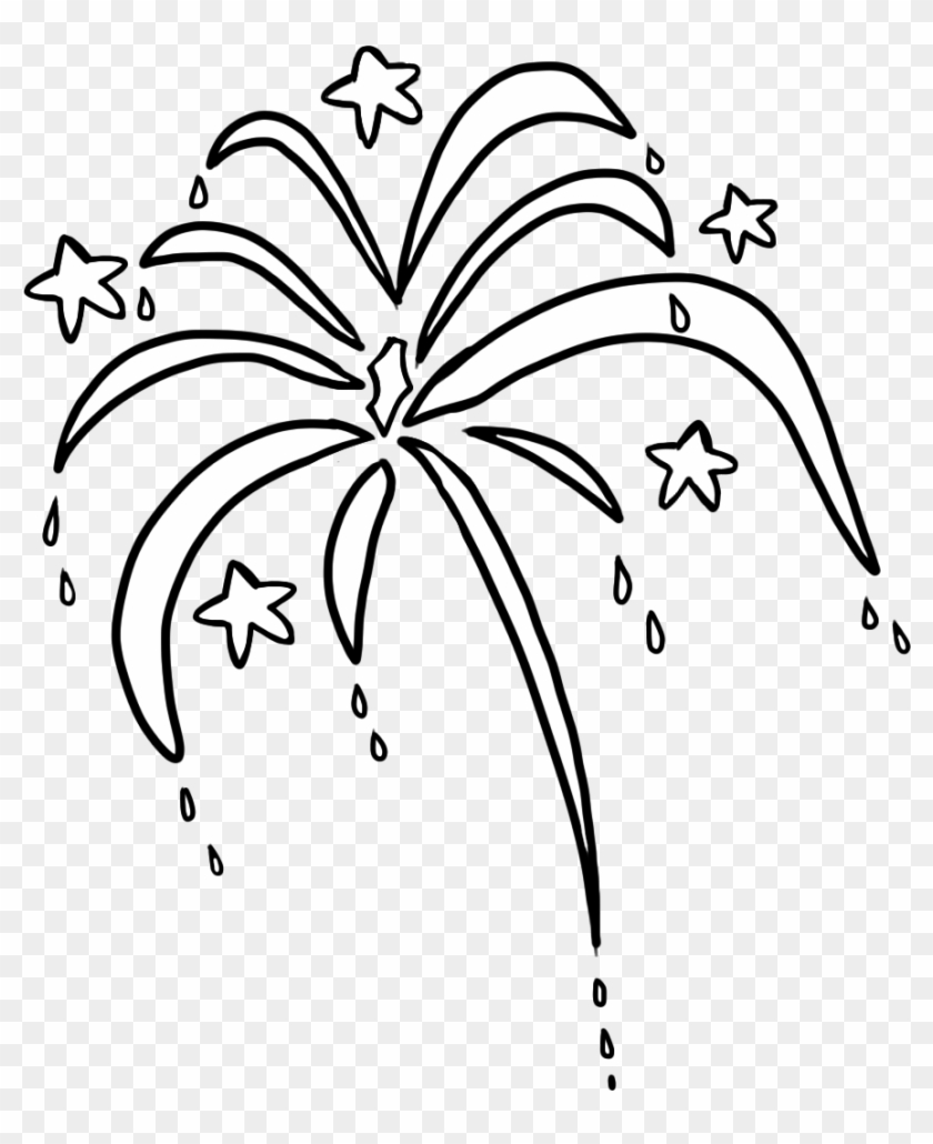 Fireworks - Transparent Clipart Of Firework #516344