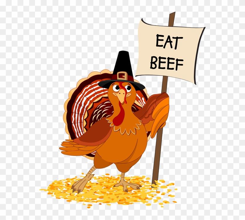 Cartoon Turkey Eat Beef Car Pictures - Eat Chicken Not Turkey #516576